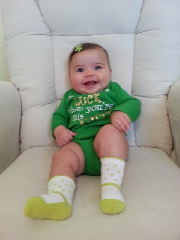 First St. Patrick's Day!
