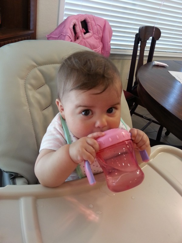yay! sippy cup!