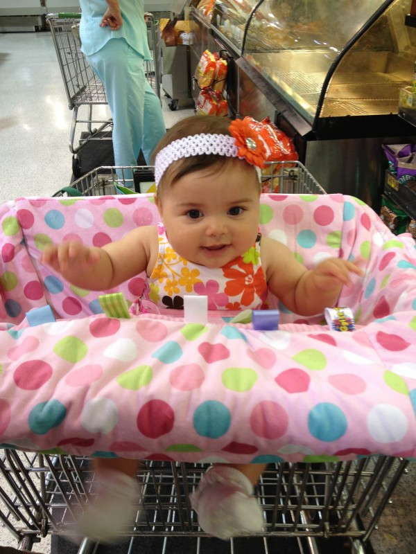 First time at the grocery store